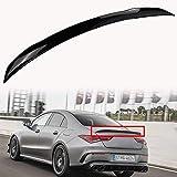 ACEOLT ABS Negro Brillante Spoiler Alerones Aler├│n Trasero del autom├│vil para Mercedes-Benz CLA-Class C118 CLA200 2020, Adhesivo Pegado sin Perforaciones y f├бcil instalaci├│n