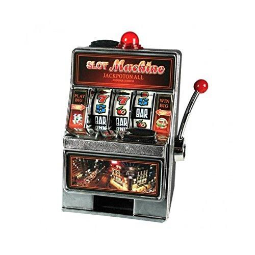 Hucha máquina tragaperras jackpot–Luminoso
