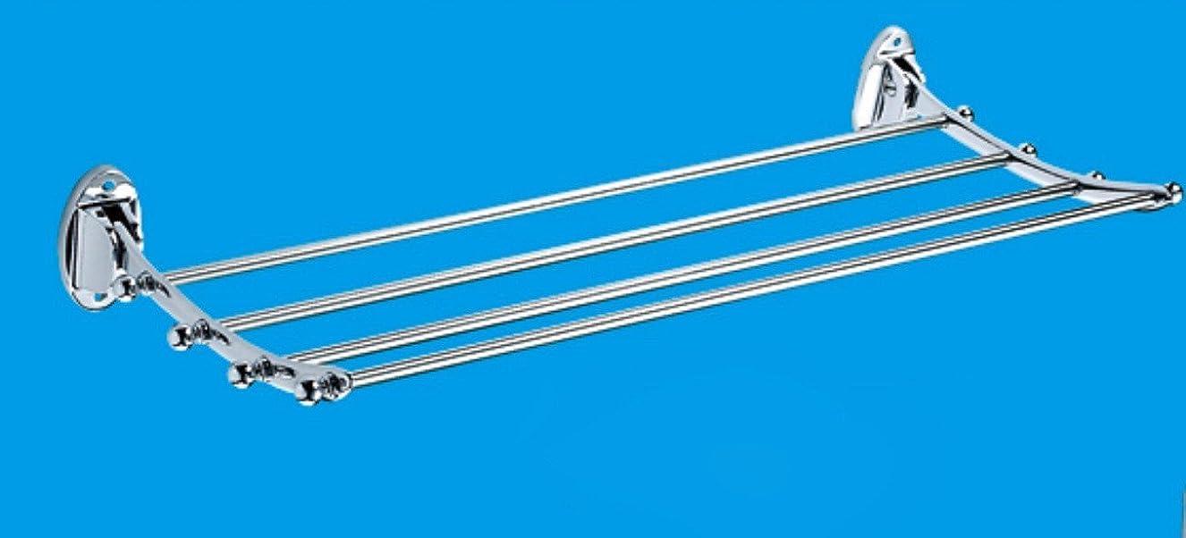 交響曲スーツ中絶タオル掛け 壁掛け収納ラック タオルラックバスウォールタオルレールステンレス鋼タオルストレージタオルホルダー棚多機能は、ハイグレードのラックをラックマウント