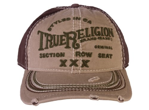 True Religion Men's Triple X Cap
