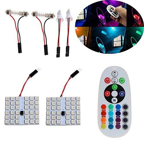 Haichen 5050 36SMD LED binnenverlichting met afstandsbediening