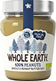 Whole Earth Burro di Arachidi Peanut Butter Cremoso Biologico 227g