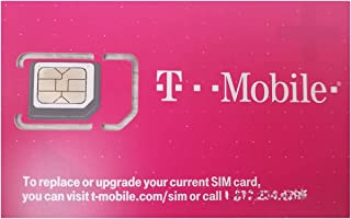 T-Mobile Prepaid SIM Card for Canada with Unlimited Talk, Text, and 5 GB Data for 30 Days
