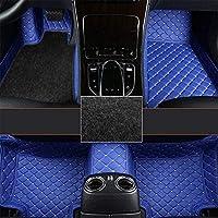 トヨタハイラックスのためのカスタムカーフロアマット2004-2006フルカバレッジ全天候保護フロント&リアライナーセット (Color : Blue)