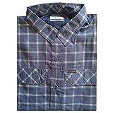 Columbia Camisa de Cuadros para Hombre Silver Ridge Lite Bluestone Small Grid M