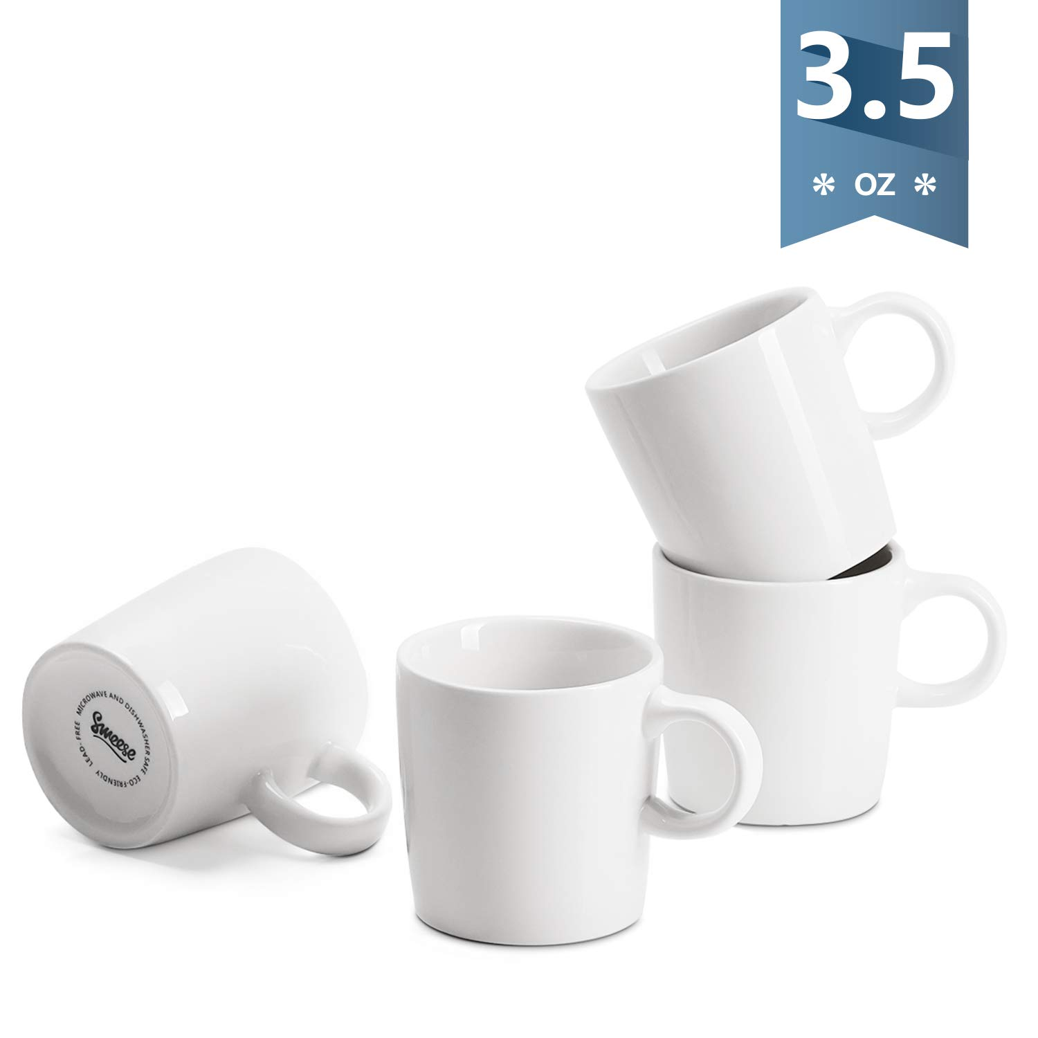 Sweese 409 101 Porcelain Espresso Cups