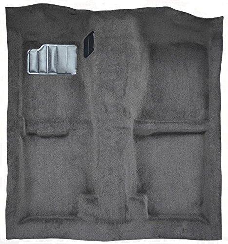 ACC Replacement Carpet Kit for 1989 to 1994 Nissan 240SX, Passenger Area, with Seat Belt Retractors (801-Black Plush Cut Pile)