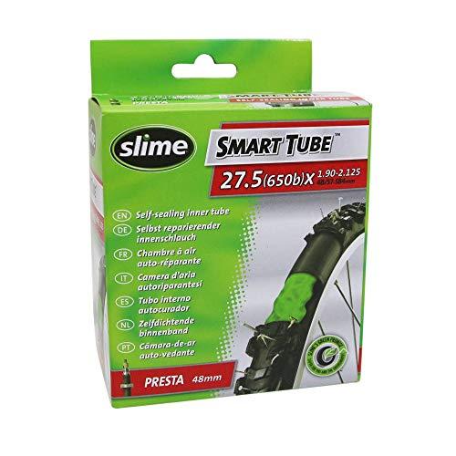 Motodak Chambre a air Velo 27.5 x 1.90-2.25 Slime Valve Presta avec Liquide Anti-crevaison