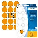 Herma 2274 Étiquettes universelles diamètre 32 mm 360 pièces Orange fluo