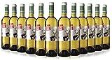San Jamón El Marido de mi Amiga Vino Blanco Rioja - Paquete de 12 x 750 ml - Total: 9000 ml