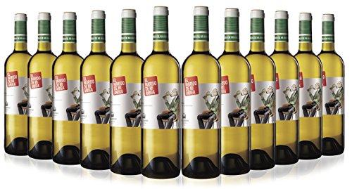 El Marido de mi Amiga Malvasía, Sauvignon Blanc y Tempranillo Vino Blanco Rioja - 75cl - 12 botellas