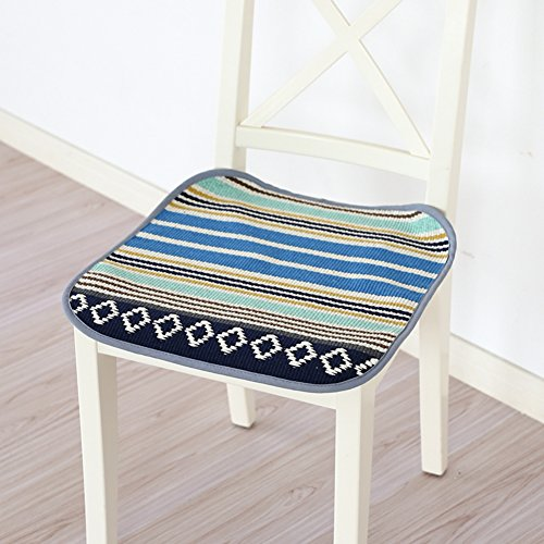 xinping Chair Pads Coussin de Chaise Canapé Tapis, C, 45x45cm(18x18inch)