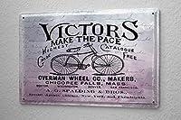 楽しい自転車ビンテージブリキポスターバー装飾ブリキ看板