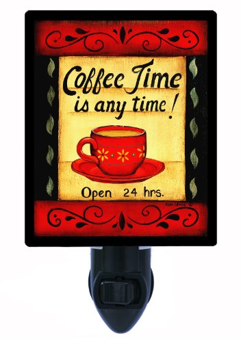 Kitchen Night Light, Coffee Time is Any Time