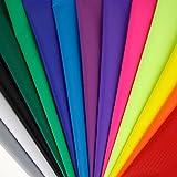 Pack de telas de nailon de colores de Emmakites, 14o 12colores, para hacer cometas, 40 denier, 149,86 x 91,44 cmpor unidad, Pack of 14 Colors