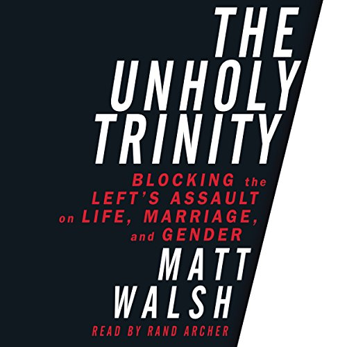 The Unholy Trinity audiobook cover art