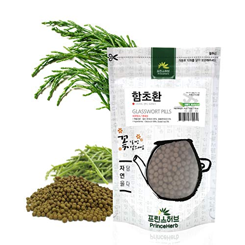 [Medicinal Korean Herb] 100% Natural Weight Loss Pills (Glasswort/Samphire/Salicornia/Haipengzi/함초환) (16 oz)