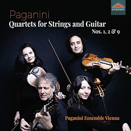 Quatuors pour Cordes et Guitare N° 1, 2 et 9
