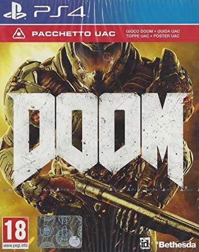 PS4 - Doom - UAC Edition - [PAL EU - NO NTSC]