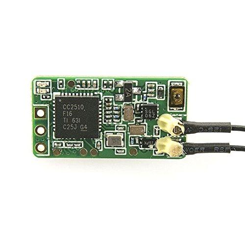 LiteBee Frsky Empfänger, Frsky Taranis Receiver XM Plus Mini Vollständige Palette empfänger Failsafe D16 Mode Support SBUS Up to 16CH kompatibel Frsky X9D Plus X9E X12S Sender Transmitter by