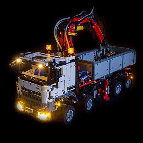 TETAKE LED Beleuchtungsset Licht-Set Beleuchtung Light Kit für Lego 42043 Mercedes-Benz Arocs 3245 (Nicht Enthalten Lego Modell)