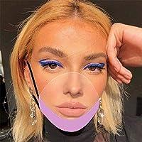 PANGHU 5 x per il viso in plastica protettiva di sicurezza in plexiglass protettiva trasparente per la bocca in plastica #2