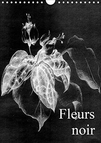 Fleurs noir (Wandkalender 2021 DIN A4 hoch)