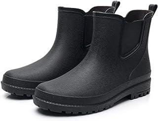 ZOSYNS Rubberen laarzen voor heren, outdoorschoenen, trendy mode, regenlaarzen, waterschoenen, heren Chelsea Boot 39-44