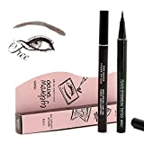 7 Days Eye Brow Eyebrow Tattoo Pen Liner Waterproof Long Lasting Makeup Eyebrow Pen (Light Brown)