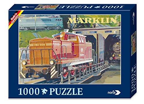 noris 606031332 - Märklin Nostalgie Puzzle V60, 1000 Teile