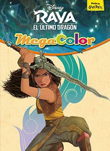 Raya y el último dragón. Megacolor: Pinta y diviértete (Disney. Raya y el último dragón)