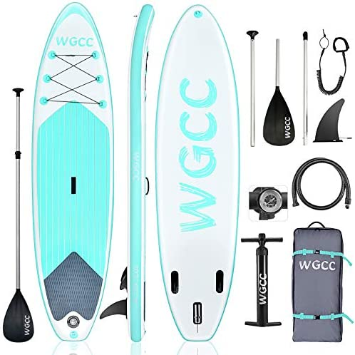 WGCC Inflatable Stand Up Paddle Board Ultra Light 16 9LBs SUP Paddleboard with Non Slip Deck product image