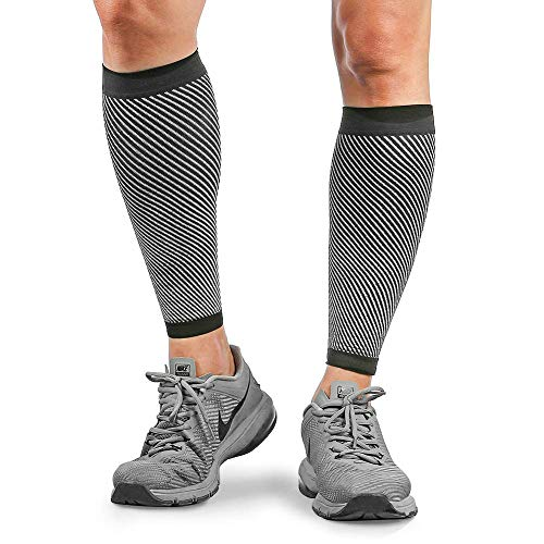 Merssyria Calf Compression Sleeves, Leg Compression Sleeve Support (20-30mm Hg) for Shin Splint, Leg Cramps, Calf Pain Relief, Recovery Faster, Running, Nurses, Circulation