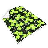 nanjingjin geschmeidig Fuzzy-Decke für Reise Mikrofaser für Kinder oder Erwachsene Warmer Stil White 130x150cm