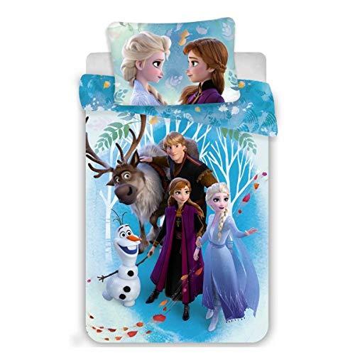 Disney Eiskönigin – Bettwäsche – Bettbezug aus Baumwolle