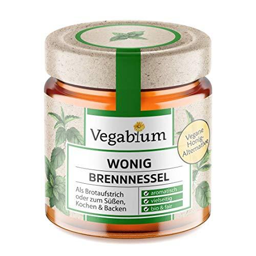 Vegablum Wonig bio pokrzywka – wegańska alternatywa dla miodu, 225 g
