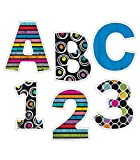 Carson Dellosa EZ Letter Combo Pack—Pre-Punched Chalkboard Letters, Numbers, Punctuation Cutouts for Bulletin Board Displays, Homeschool or Classroom Decor (76 pc)