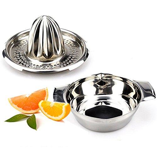 Brand New Citrus Orange Stainless Steel Juicer Lemon Lime Fruit Hand Squeezer Kitchen Tool