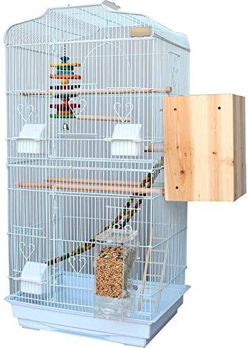 Gabbia per uccelli durevole e rispettosa dell'ambi Gabbia di volo per parrocchietti gabbie per uccelli economici per parrocchetti, grande gabbia per uccelli di lusso, ferro da stiro gabbia di budgerri