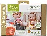 Infantino - 24377 - Pack de Bolsas Fresh Squeezed Infantino 120 ml 50 uds