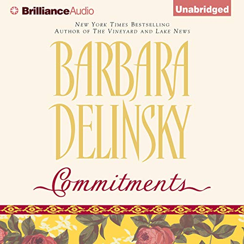 Commitments                   By:                                                                                                                                 Barbara Delinsky                               Narrated by:                                                                                                                                 Joyce Bean                      Length: 13 hrs and 19 mins     32 ratings     Overall 3.8