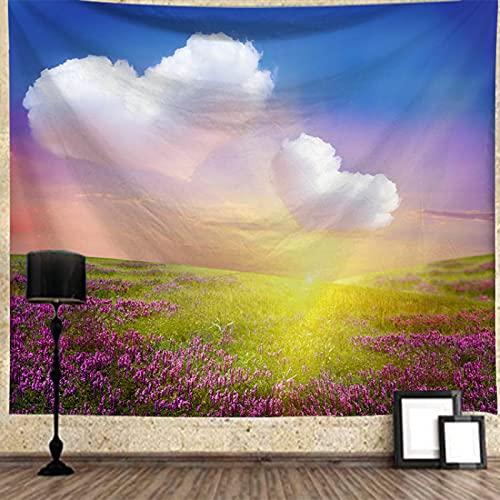 XGguo Tapiz, decoración de Dormitorio, Alfombrilla para Yoga, Toalla para Playa, Colgante de Pared con patrón de Madera