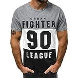 Camisetas Hombre Manga Corta Nuevo Promociones Blusa Impresión Tops Hombre Verano Reducción de...