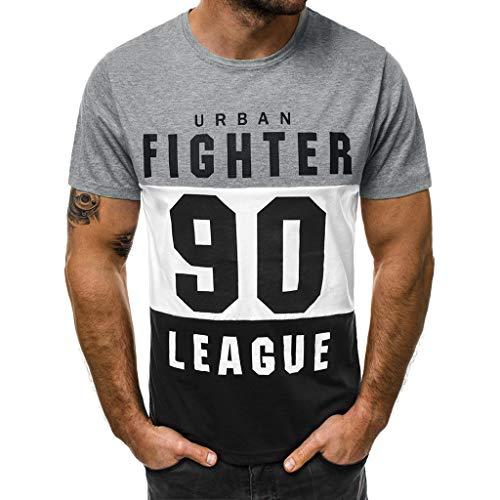 Camisetas Hombre Manga Corta Nuevo Promociones Blusa Impresi