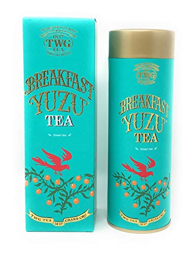 TWG Singapore - The Finest Teas of the World - Breakfast Yuzu Tee - 100gr Dose