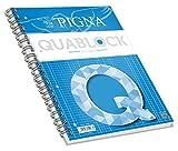 Pigna Quablock Amarillo - Cuaderno (220 mm, 295 mm) - (Pack de 5)
