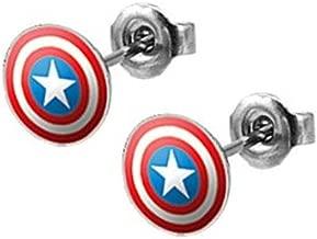 Best captain america shield earrings Reviews