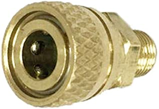 IORMAN 1/8 BSPP Male to 8MM Female Quick-Disconnect Connector Brass Adapter