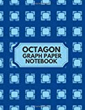 Octagon Graph Paper Notebook: Large essential graph paper worksheet,...