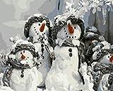 AFuruide Puzzle Madera Puzzle 1000 Piezas Monigote de Nieve Puzzle de Madera de 1000 Piezas Juguetes educativos de Entretenimiento Familiar para Adultos y niños 75cm*50cm